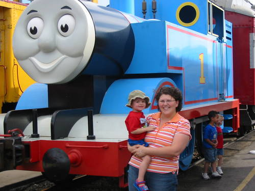 Seth and Thomas the Tank Engine
